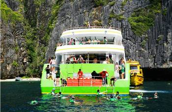 Ferry by Phi Phi and Krabi №3