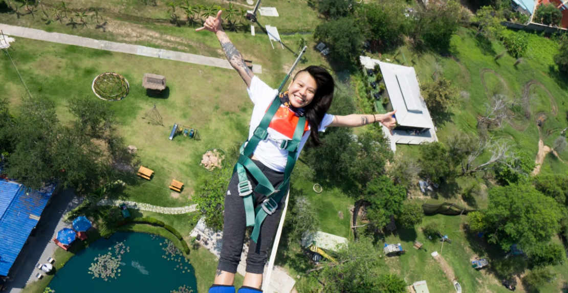 Video Bungy Jumping on Phuket