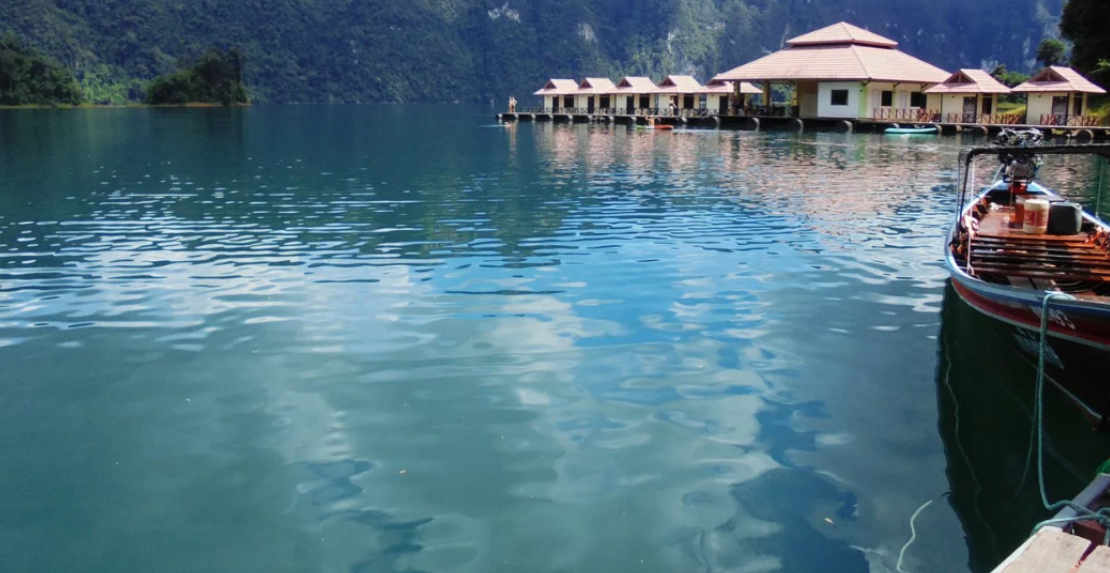 Video about trip Kao Sok + Chew Lan Lake owernight Lux, stay in hotel on mainland
