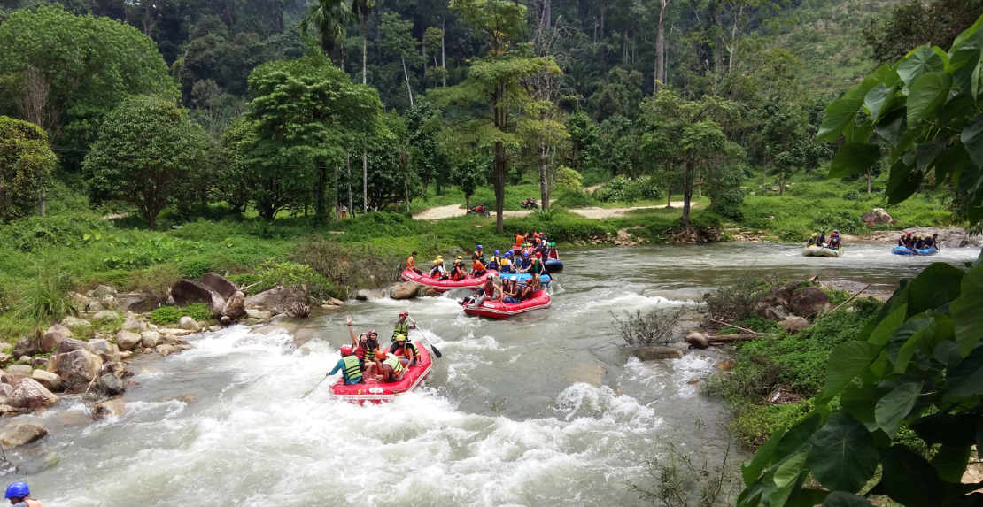 Video about rafting trip on Phuket