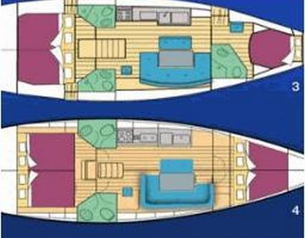 Yacht for diving and/or outings, 13,8 m