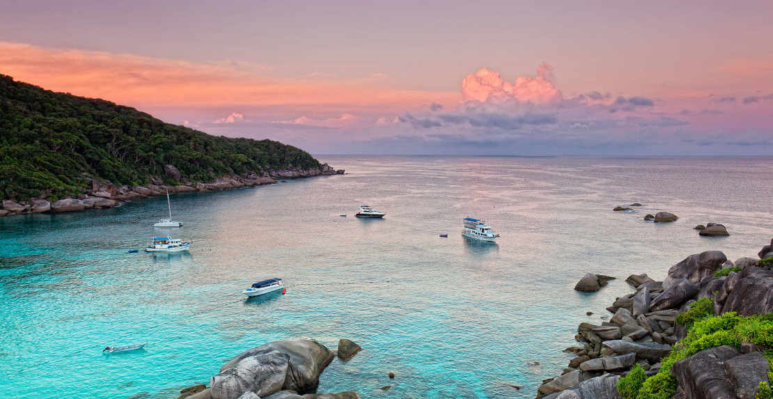 trip to Similan islands for 1 day